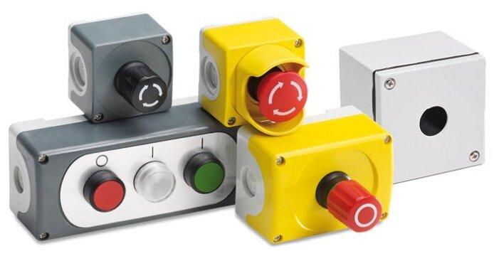 Комбинация устройств управления в корпусе (пост кнопочный в сборе) ABB 1SFA619821R1001