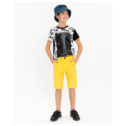 Купить Бермуды Gulliver размер 170, желтый, Шорты