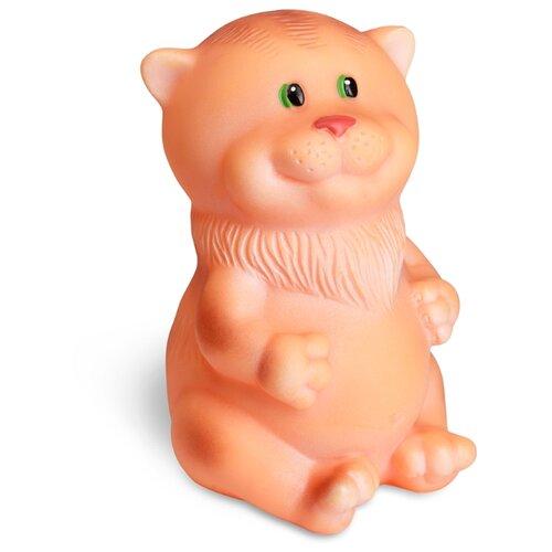 Купить Игрушка для ванной ОГОНЁК Кот Жорик (С-700) коричневый, Игрушки для ванной