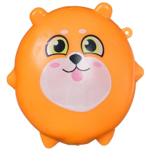 Игрушка-мялка BONDIBON Липучка-Тянучка Собачка (ВВ4303) оранжевый