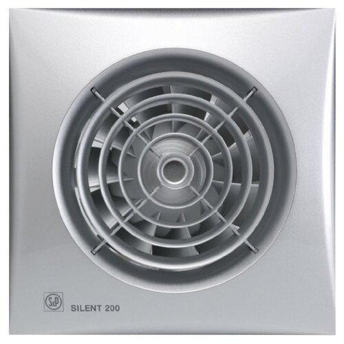 Вытяжной вентилятор Soler & Palau SILENT-200 CHZ, silver 16 Вт цена 2017