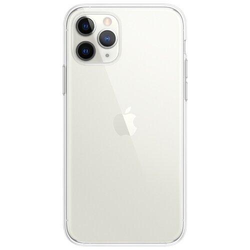 Купить Чехол Gurdini для Apple iPhone 11 Pro (силикон плотный прозрачный) бесцветный