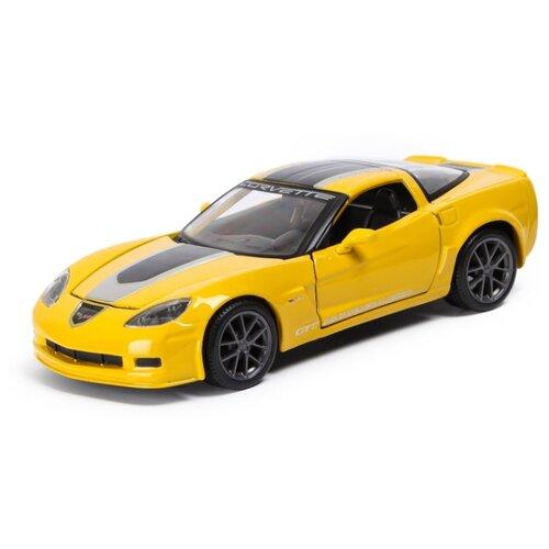 Легковой автомобиль Maisto Chevrolet Corvette Z06 GT1 2009 (31203) 1:24 желтый