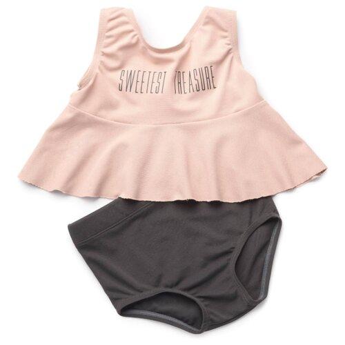 Фото - Купальник раздельный Happy Baby размер 80-86, pink/gray купальник раздельный in extenso