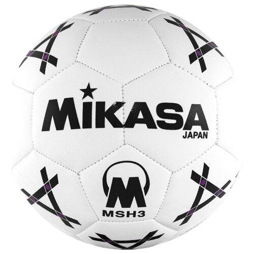 Фото - Мяч для гандбола Mikasa MSH 3 белый/черный s 289 msh