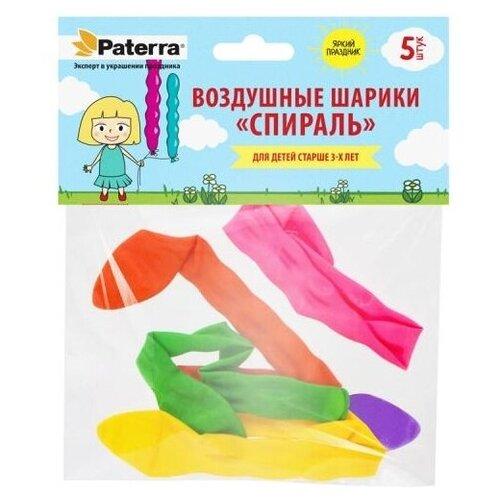 Набор воздушных шаров Paterra Спираль (5 шт.)