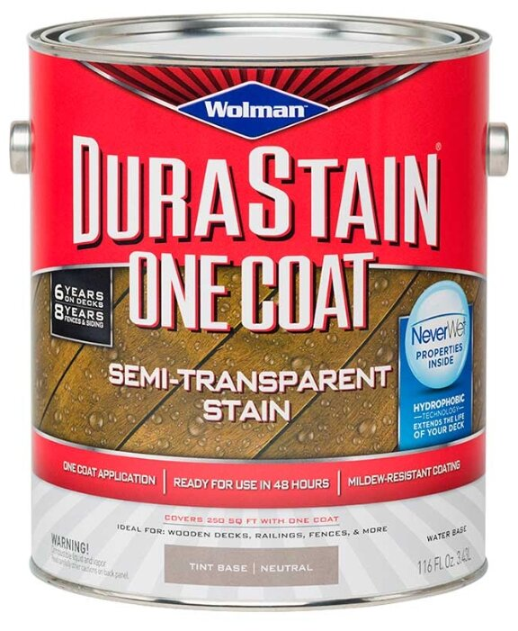 WOLMAN One Coat Semi-transparent Stain