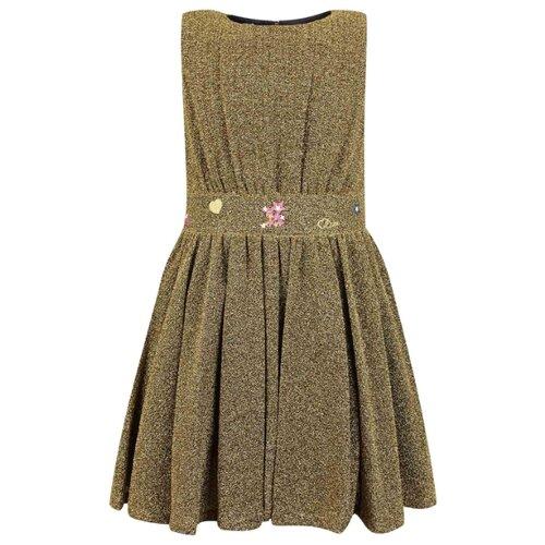 Платье Christian Dior размер 164, золотой
