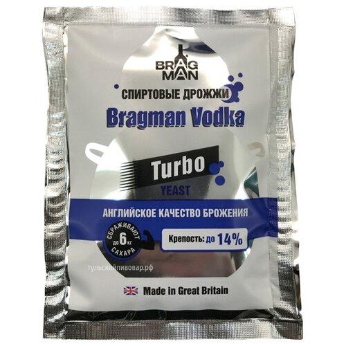 Дрожжи Bragman спиртовые Vodka 66 г