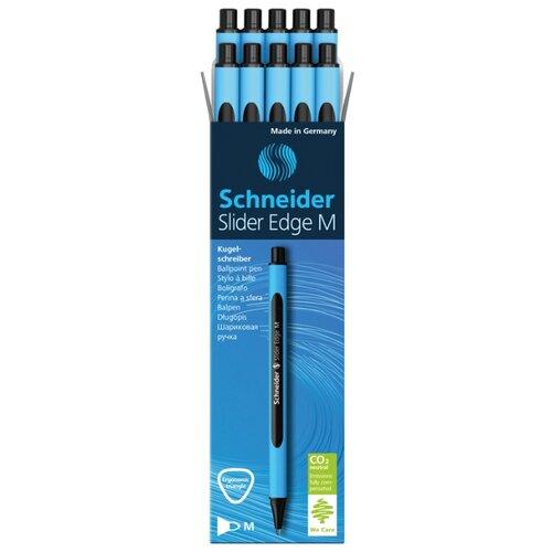 Купить Schneider Набор шариковых ручек Slider Edge M, 1.0 мм, 10 шт, черный цвет чернил, Ручки