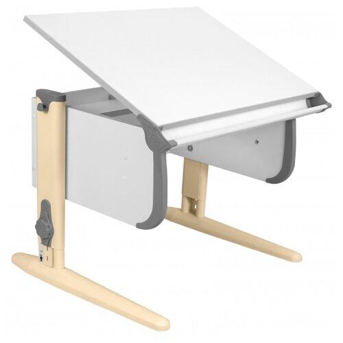 Купить Стол ДЭМИ СУТ-24 75x55 см белый/серый/бежевый, Парты и столы