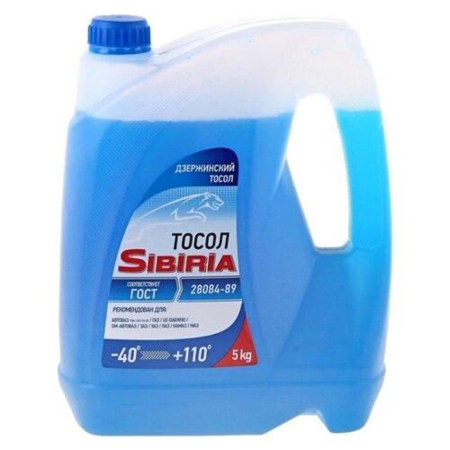 Фото - Антифриз SIBIRIA Тосол -40 5 кг антифриз sibiria антифриз 40 g 11 красный 5 кг