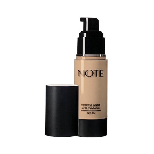 Купить Note Тональный крем Mattifying Extreme Wear Foundation, 35 мл, оттенок: 120 soft sand