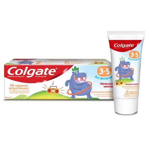 Купить Зубная паста Colgate Нежная мята 3-5 лет, 60 мл, Гигиена полости рта