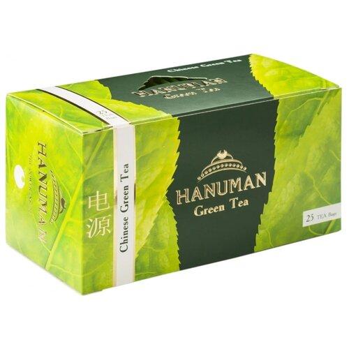 Чай зеленый Hanuman Chinese в пакетиках, 25 шт. по цене 156
