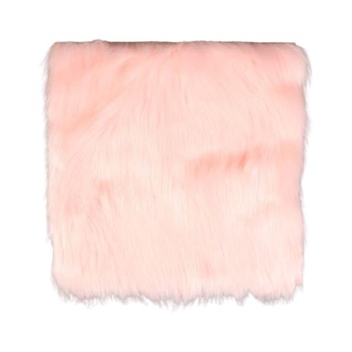 Мех искусственный Арт Узор для творчества 2150 г/м, 30x30 см нежно-розовый