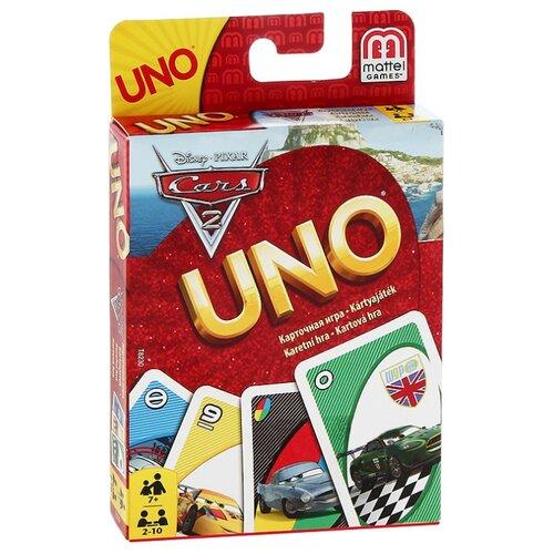 Фото - Настольная игра Mattel Uno Тачки 2 настольная игра mattel uno w2087