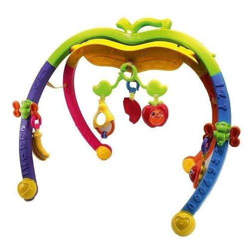 Развивающая игрушка Spring Flower Apple fun gym желтый/зеленый, Развивающие игрушки  - купить со скидкой