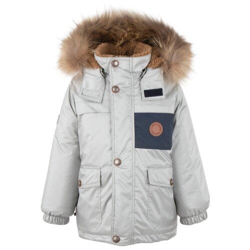 Купить Куртка KERRY Tom K20438 размер 128, 255 серебристый, Куртки и пуховики