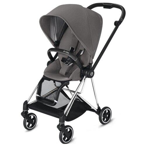 Купить Прогулочная коляска Cybex Mios 2019/2020 manhattan grey/chrome/black, цвет шасси: серебристый, Коляски
