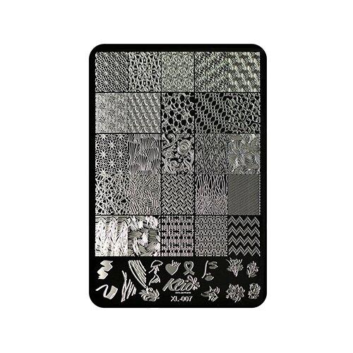 Купить Трафарет KLIO Professional №007 11 х 15 см black