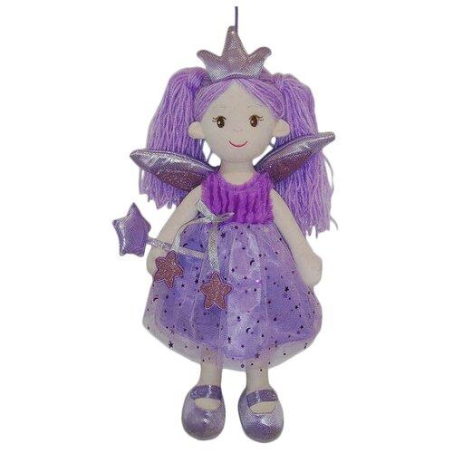 Фото - Мягкая игрушка ABtoys Кукла Фея в фиолетовом платье 45 см paula кукла paula волшебство фея в фиолетовом