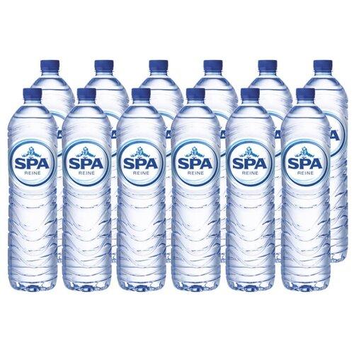 Питьевая вода SPA Reine негазированная, ПЭТ, 12 шт. по 1.5 л