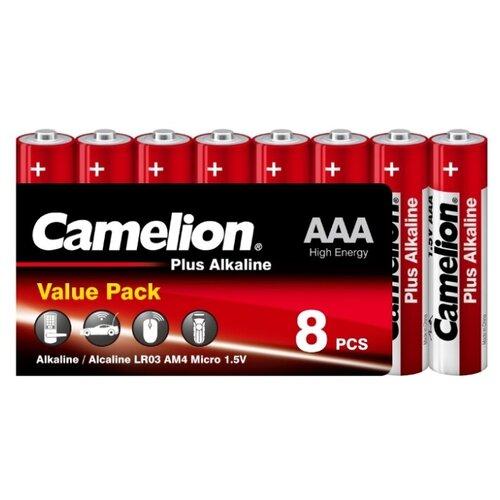 Фото - Батарейка Camelion Plus Alkaline AAA, 8 шт. батарейка camelion lr23a 1 шт