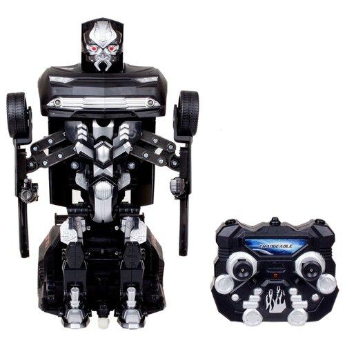 Купить Робот-трансформер Jia Qi Troopers Fierce черный, Роботы и трансформеры