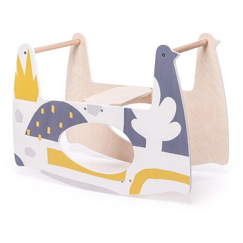 Купить 94001, Качалка детская MILLY SWING (этно), Happy Baby, Колыбели и люльки
