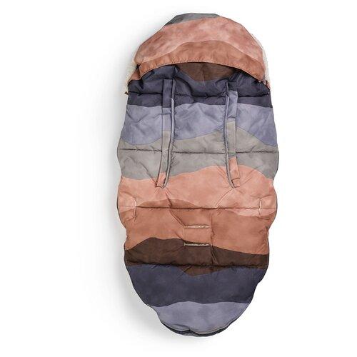 Конверт-мешок Elodie зимний на искусственном меху 110 см Winter Sunset конверт мешок elodie details зимний пуховый в коляску 100 см tender blue