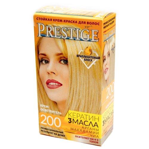 VIP's Prestige Бриллиантовый блеск стойкая крем-краска для волос, 200 - крем-осветлитель самый щадящий осветлитель для волос
