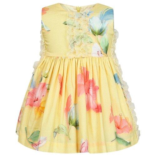 Платье Lapin House размер 86, желтый