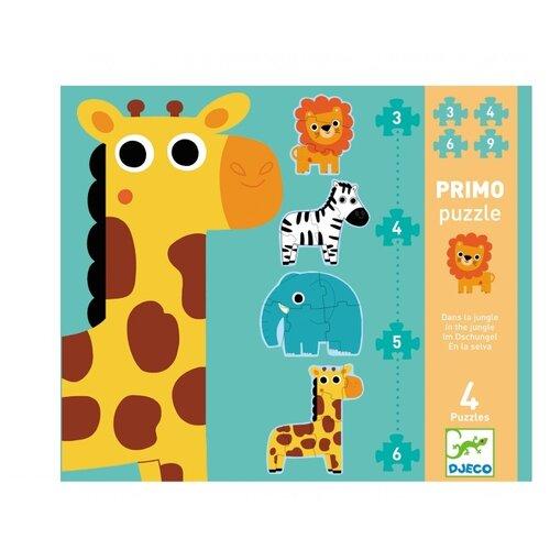 Купить Набор пазлов DJECO В джунглях (07135), Пазлы