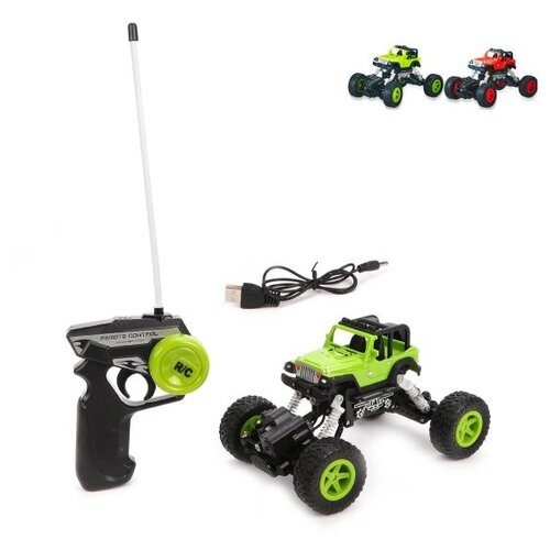 Купить Машина р/у Наша Игрушка 4 канала, свет, встроенный аккумулятор, USB шнур (6149C), Наша игрушка, Радиоуправляемые игрушки