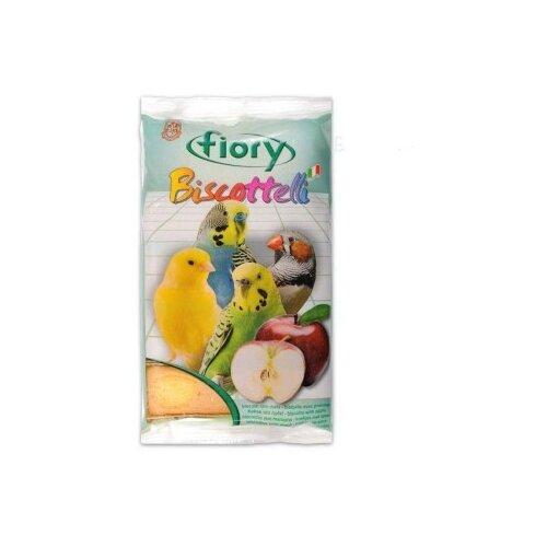 Лакомство для птиц Fiory Biscottelli с яблоком (02005) 30 г fiory fiory бисквиты для грызунов biscottelli с ягодами 35 г