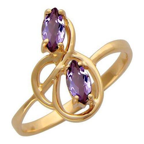 Эстет Кольцо с 2 аметистами из красного золота 01К313537-1, размер 16 эстет кольцо с 2 аметистами из красного золота 01к317889 1 размер 16 5