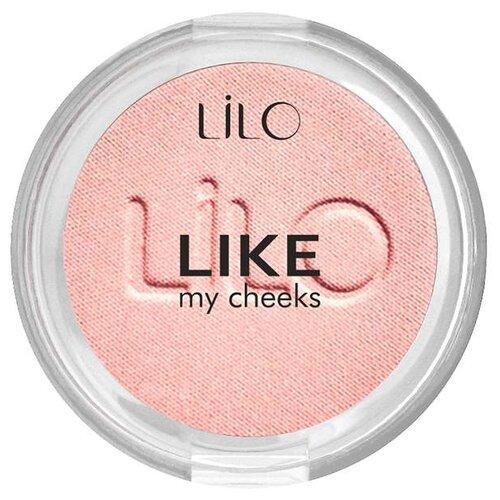 Lilo Компактные румяна Like My Cheeks 501 розовый ангел