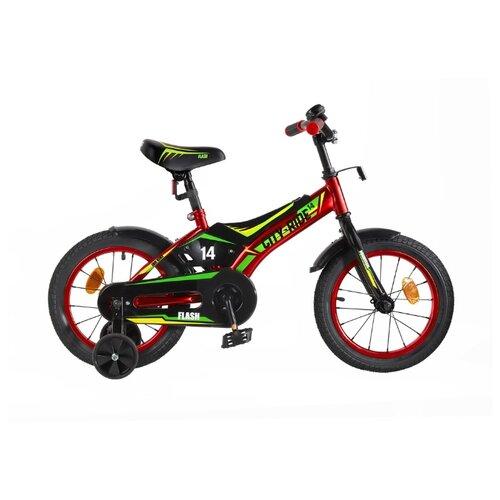 Детский велосипед CITY-RIDE Flash 14 (CR-B2-0314) красный (требует финальной сборки)