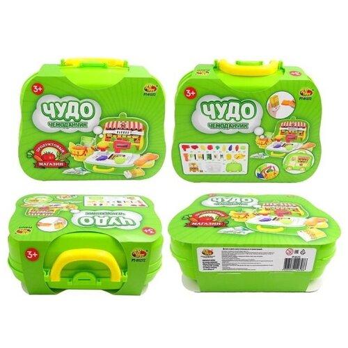 Купить Игровой набор ABtoys Чудо-чемоданчик на колесиках, Продуктовый магазин (PT-01272), Играем в магазин