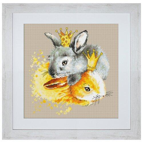 Набор для вышивания Кролики, Luca-S