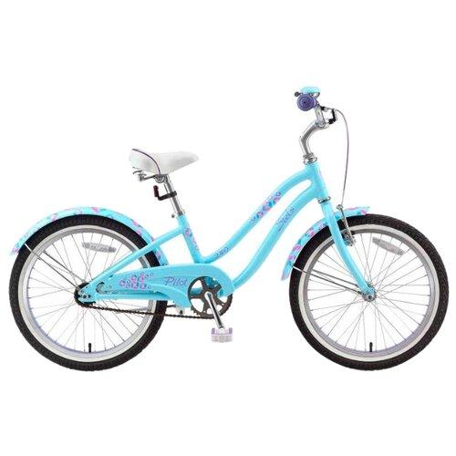 Подростковый городской велосипед STELS Pilot 240 Girl 1 Sp (2015) голубой 11 (требует финальной сборки)