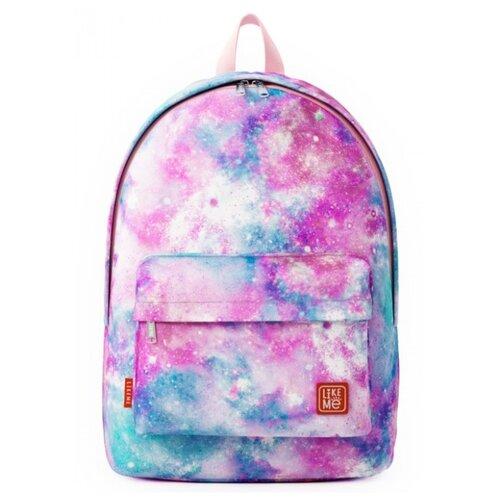 Like Me рюкзак Classic Print Космос, розовый, Рюкзаки, ранцы  - купить со скидкой