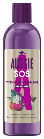 Aussie шампунь SOS глубокое восстановление для поврежденных волос — купить по выгодной цене на Яндекс.Маркете