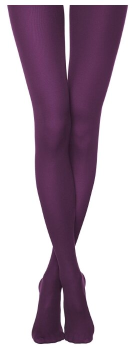 Купить Колготки Conte Elegant Trendy 150 den, размер 2, melanzana (фиолетовый) по низкой цене с доставкой из Яндекс.Маркета