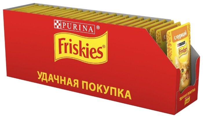 Корм для кошек Friskies с курицей 85 ... — купить по выгодной цене на Яндекс.Маркете