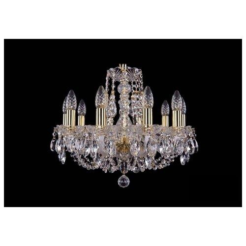 Люстра Bohemia Ivele Crystal 1406/10/160/G, E14, 400 Вт бра bohemia ivele 1402b 2 160 g m701