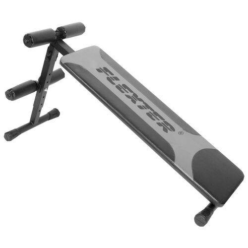 Скамья Формула здоровья Вега СП В 12 черный-серебристый