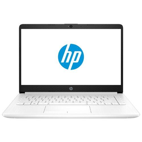 Ноутбук HP 14-dk1004ur (AMD Ryzen 3 3250U 2600MHz/14/1920x1080/4GB/1000GB HDD/DVD нет/AMD Radeon Graphics/Wi-Fi/Bluetooth/DOS) 104A0EA ярко-белый ноутбук