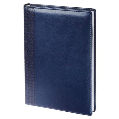 Купить Ежедневник InFolio Lozanna недатированный, искусственная кожа, А5, 160 листов, синий, Ежедневники, записные книжки